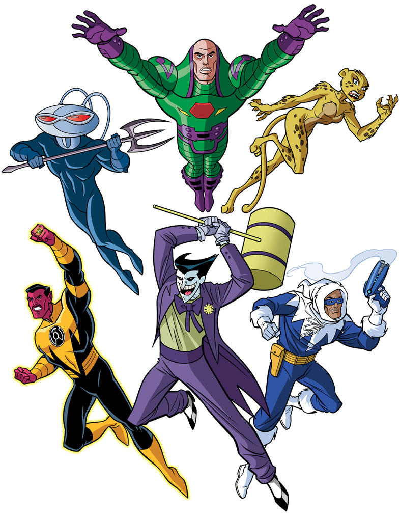 How To Draw DC Villains - Super Villains United by TimLevins