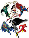 How To Draw DC Heroes - Justice League