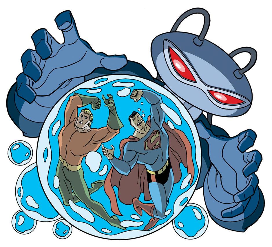 Superman: Bubble Trouble by TimLevins