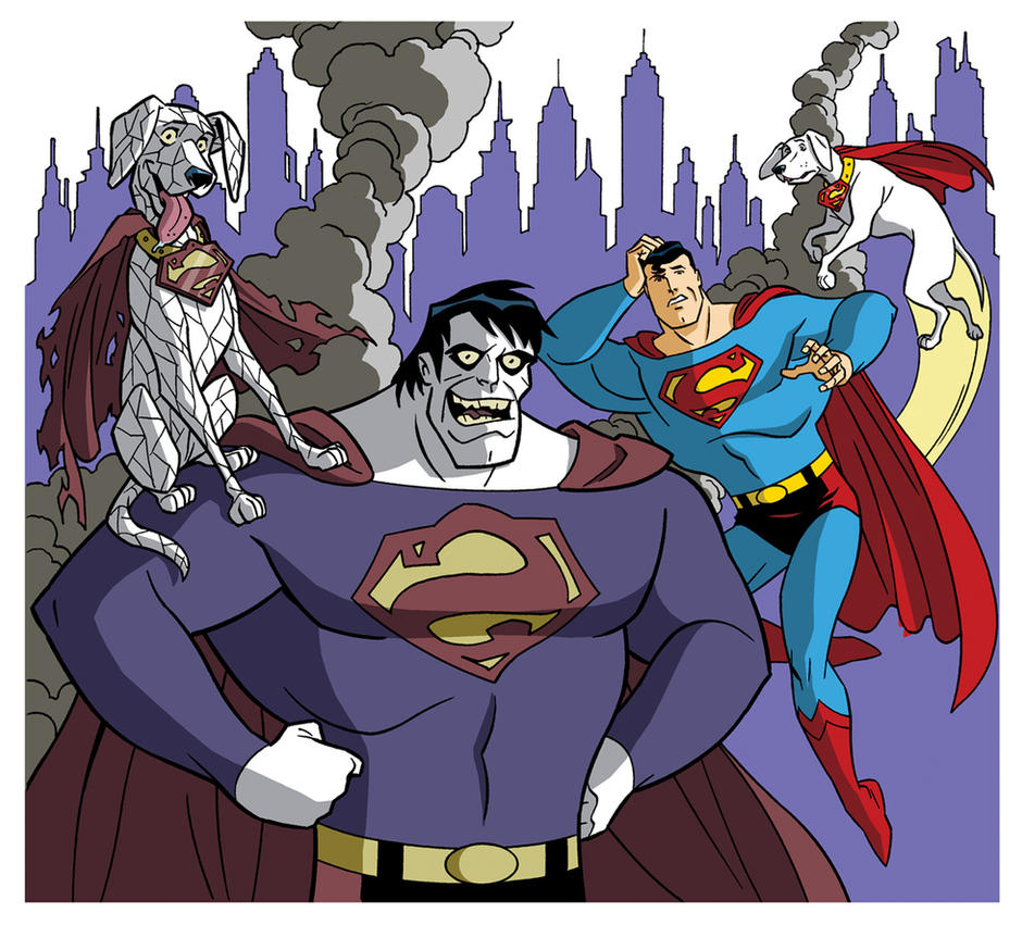 Superman: Day of the Bizarros by TimLevins