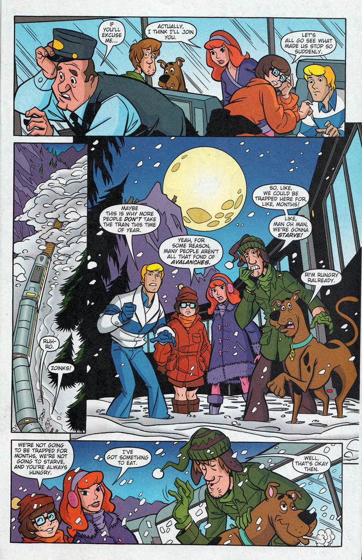 Scooby-Doo: Mystery on the Alaska Express p.2 by TimLevins