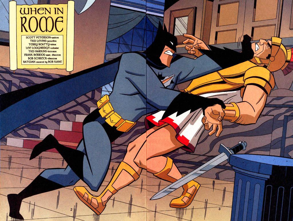 Batman: Gotham Adventures #34 - 02 03 by TimLevins