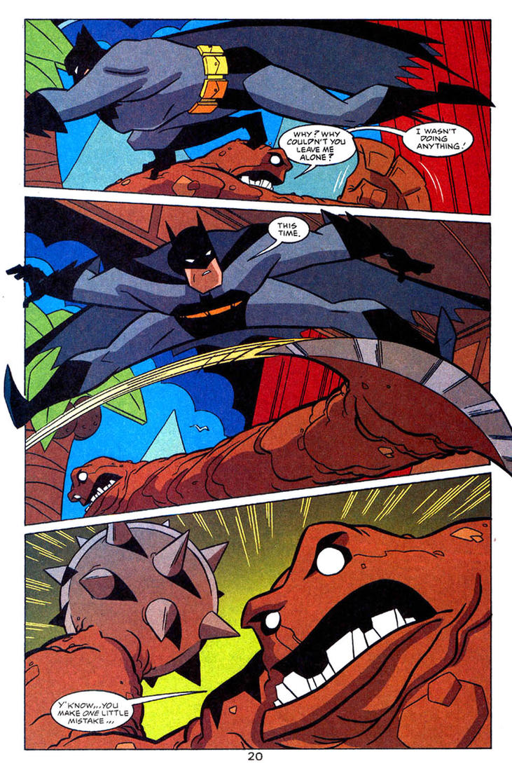 Batman: Gotham Adventures #39 - 20 by TimLevins