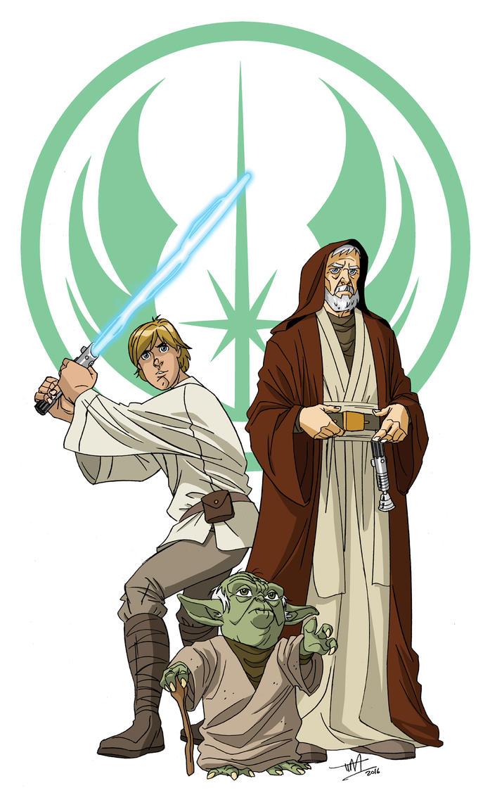We Three Jedi by TimLevins