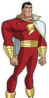 Justice League DCAU Roll Call - Shazam by TimLevins