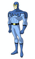 Justice League DCAU Roll Call - Blue Beetle by TimLevins