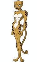 Justice League DCAU Roll Call - Cheetah
