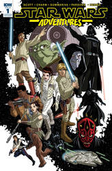 Star Wars Adventures #1 cover - Fan Expo exclusive