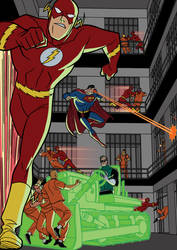 Justice League vs. Injustice Gang - 07 by TimLevins