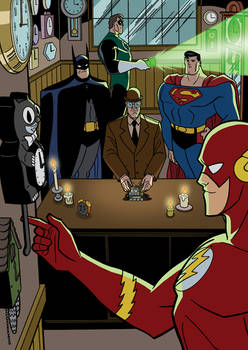 Justice League vs. Injustice Gang - 09