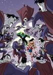 Justice League vs. Bizarro - cover
