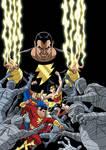 Justice League vs. Black Adam - cover
