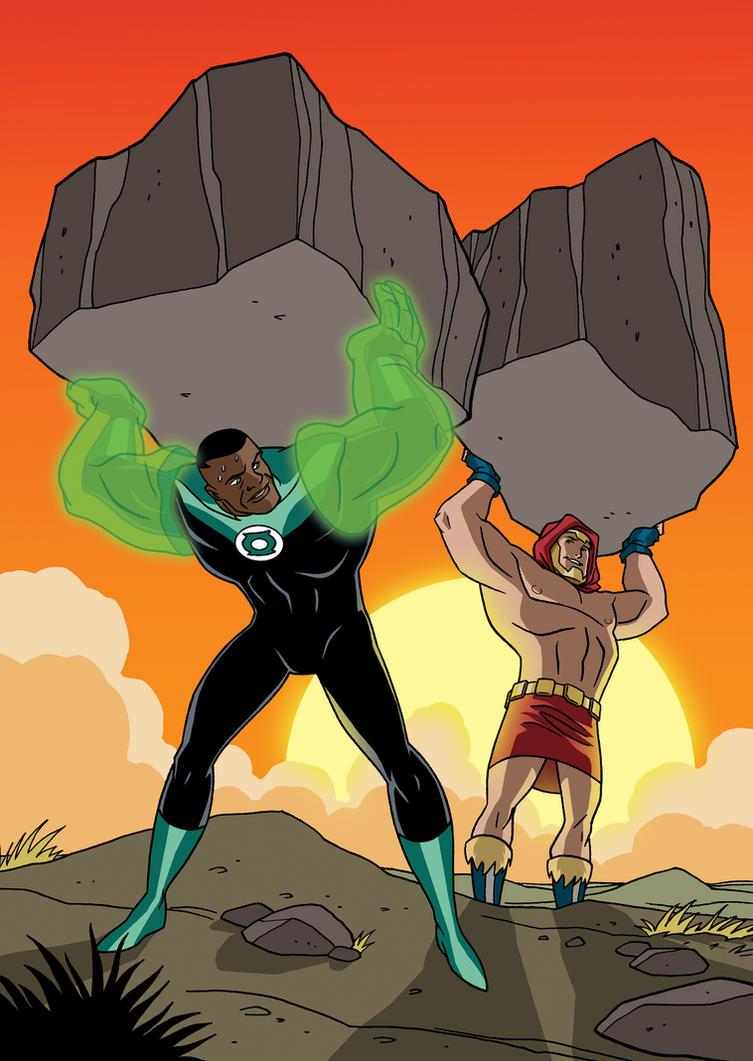 Justice League vs. Black Adam - 08 by TimLevins