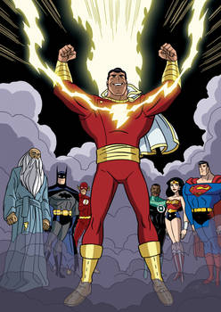 Justice League vs Black Adam - 09