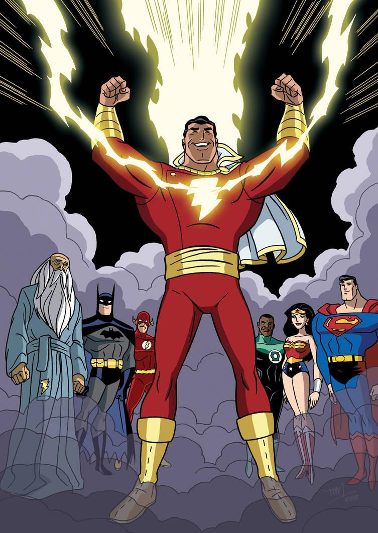 Justice League vs Black Adam - 09 by TimLevins