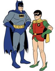 Scooby-Doo Encyclopedia: Batman + Robin by TimLevins