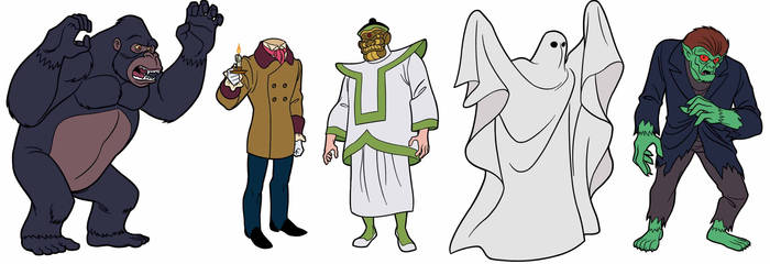 Scooby-Doo Encyclopedia: Classic Bad Guys 1