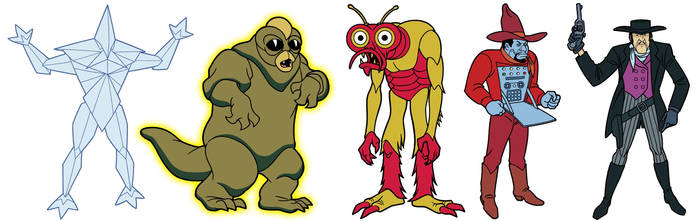Scooby-Doo Encyclopedia: Classic Bad Guys 2
