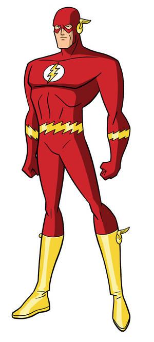 Justice League DCAU - The Flash (Barry Allen)