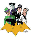 Bat-Villains 1: TNBA Version