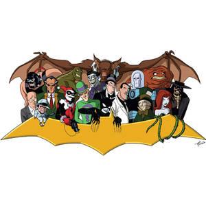 Bat-Villains Extreme: TNBA Version