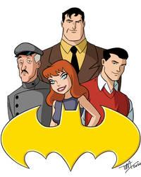 Bat-Family 2020: BTAS Style v.2