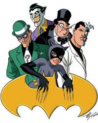 Bat-Villains 1: BTAS Version