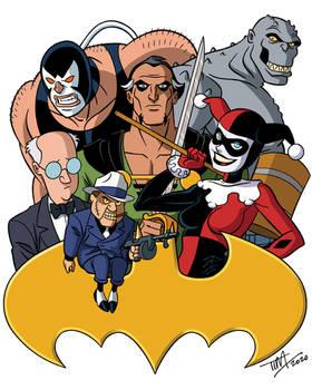 Bat-Villains 3: BTAS Version