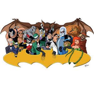Bat-Villains Extreme: BTAS Version