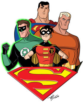 Superman: The Animated Series - Heroes 2