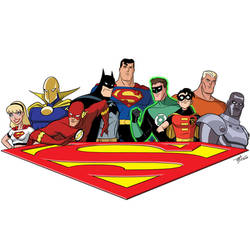 Superman: The Animated Series - Heroes Extreme