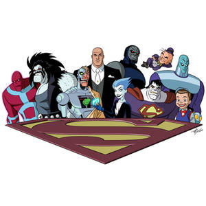 Superman: The Animated Series - Villains Extreme