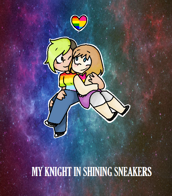 My knight in shining sneakers by galaxina500