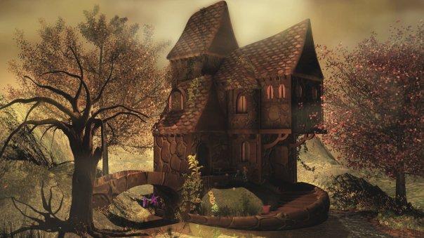 fantasy cottage wallpaper wwwimgkidcom the image kid