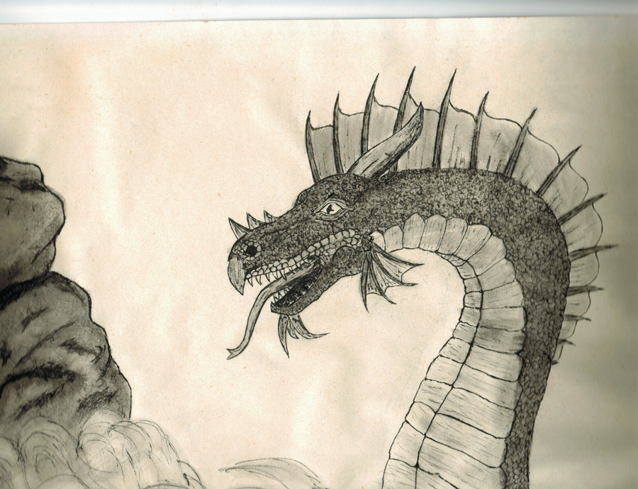 Dragon by inzaratha