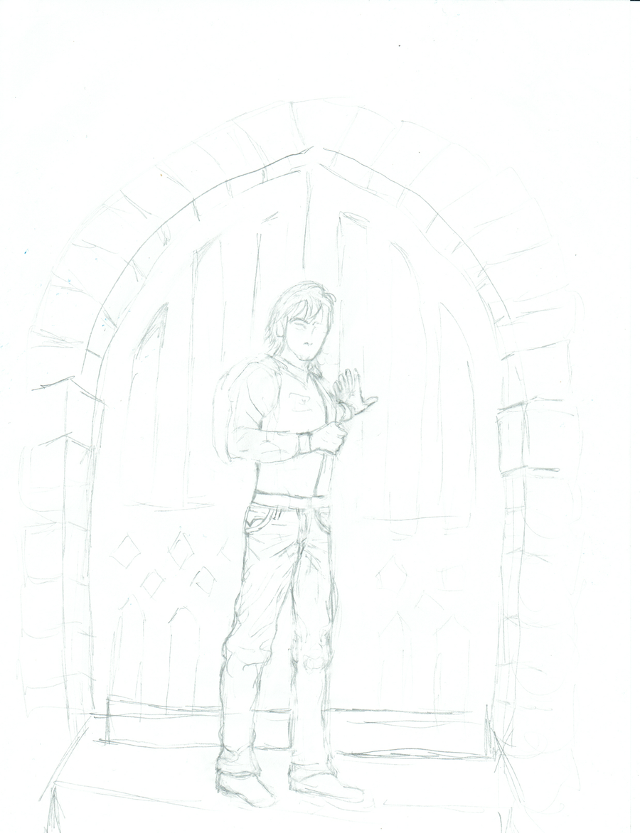 When I Open This Door -Sketch - Malevolent Society by inzaratha