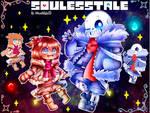 Soulesstale Sans and Frisk