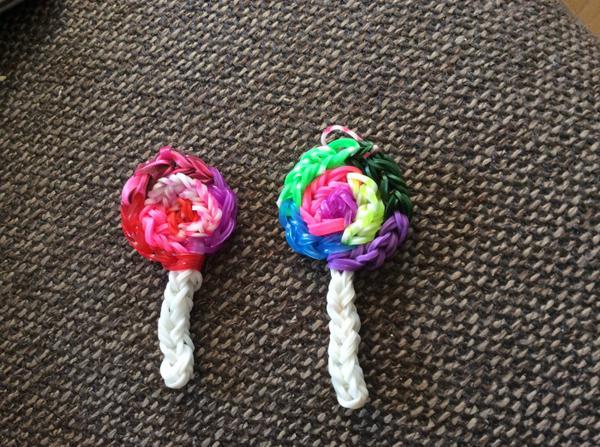 Loom Lollipops by carmendutch