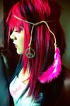 Pink Hippie Girl