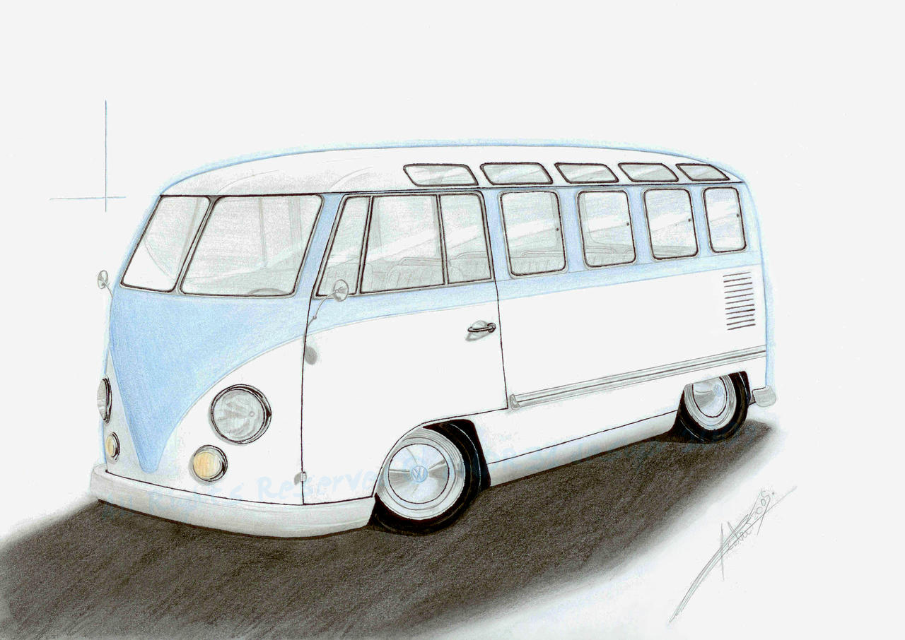 Volkswagen T1 microbus by