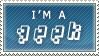 STAMP - I'm A Geek by Bruno-Sensei