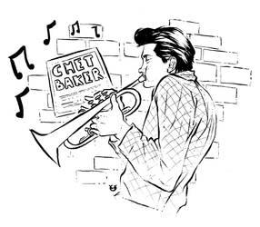 Chet Baker by Bruno-Sensei