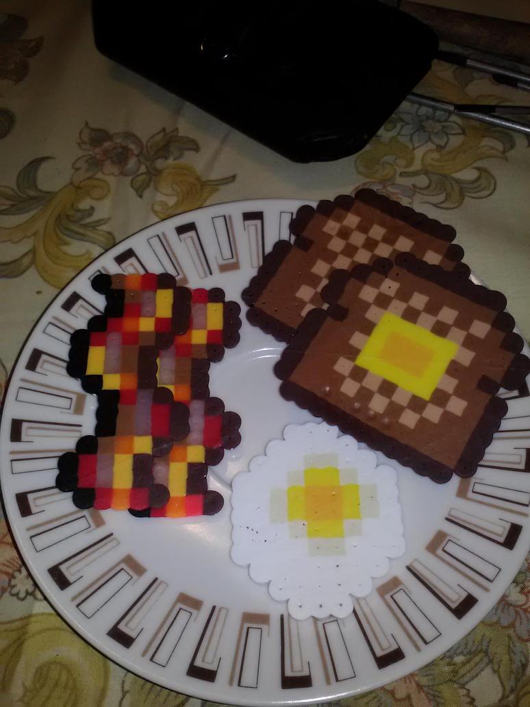 Pixel Breakfast by worldwanderer on DeviantArt