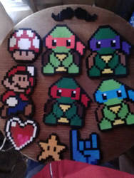 Perler Bead Collection I by worldwanderer