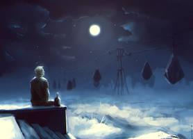 Moon, calm me