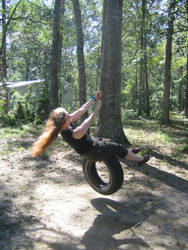 Tire Swing by Reyali