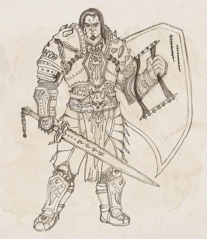 Fierce Defender by Dinarium