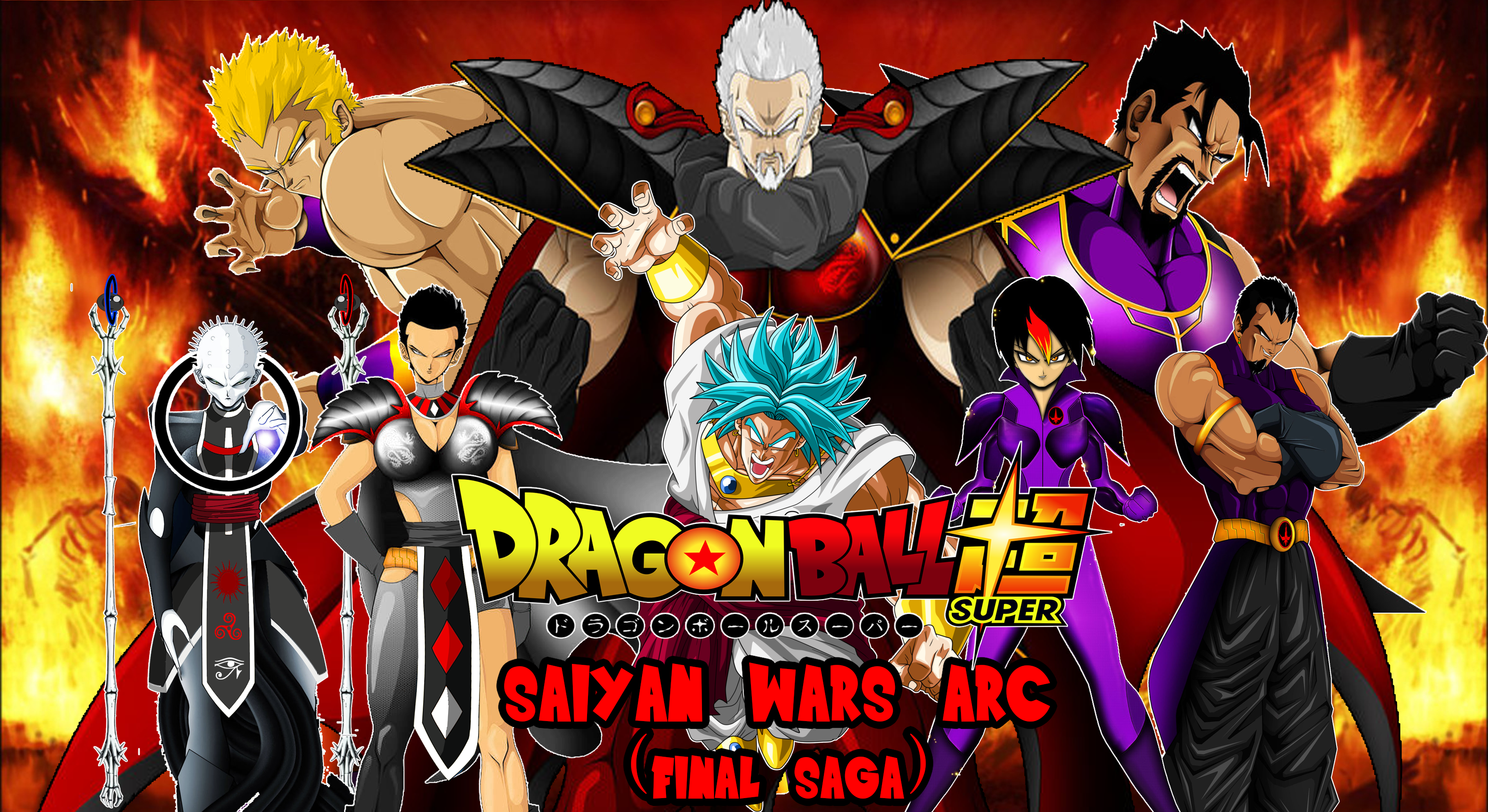 Dragon Ball Super - The Dajjal Army of Darkness by RunzaMan