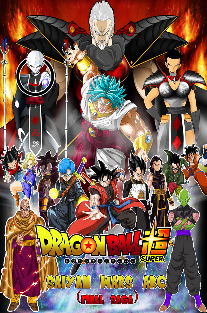 Dragon Ball Super Saiyan Wars Arc Final Saga By