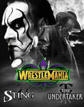 WWE WRESTLEMANIA 34: STING VS THE UNDERTAKER